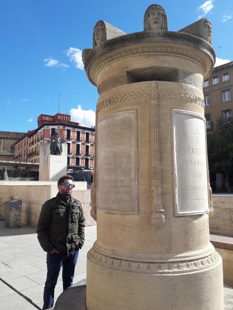 Goyov nahrobok Zaragoza