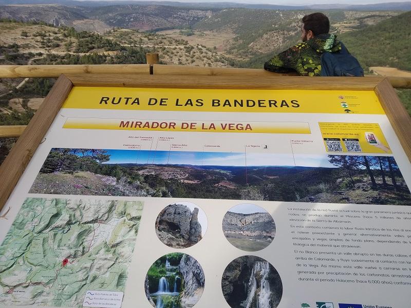 vyhliadka Mirador de la Vega