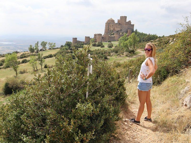 Hrady v Aragónsku Castillo de Loarre