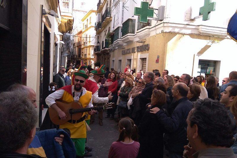 """Karneval v Cádize """"Carnaval de Cádiz"""""""