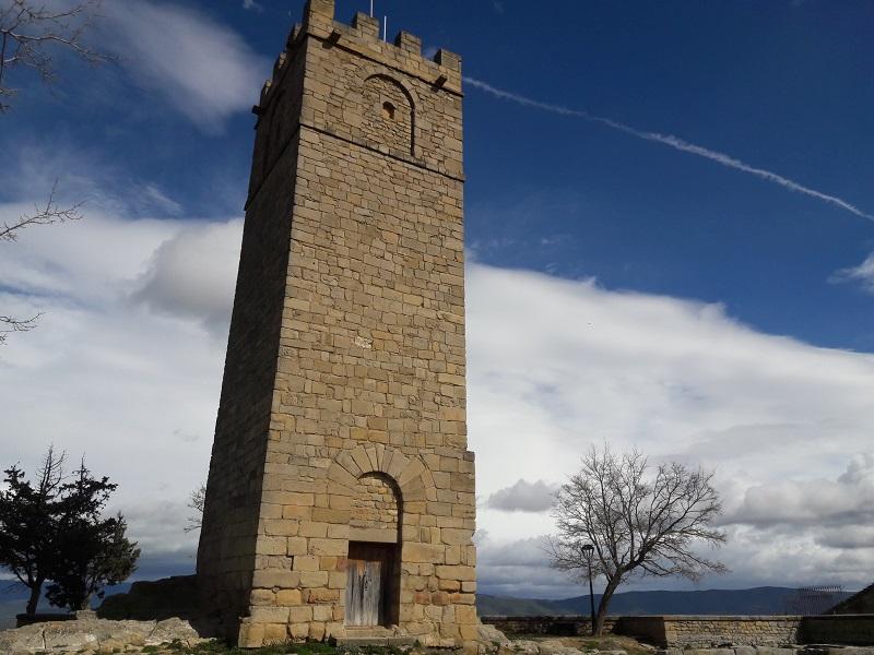 Torre de homenaje de Castillo de Sos del Rey Católico
