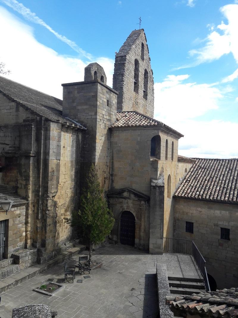 Vystup na hrad Castillo de Sos del Rey Católico