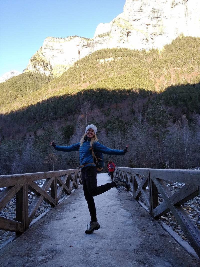 Blížime sa k parkovisku Pradera v údolí Ordesa y Monte Perdido