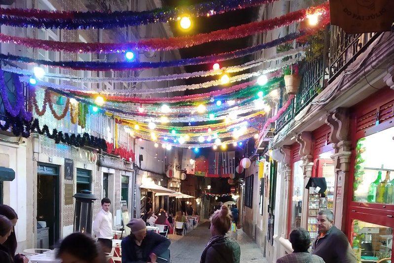 Štvrť Bairro Alto