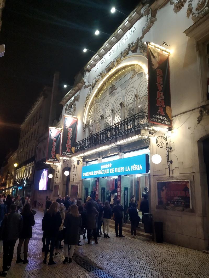 Divadlo Teatro Politeama v Lisabone