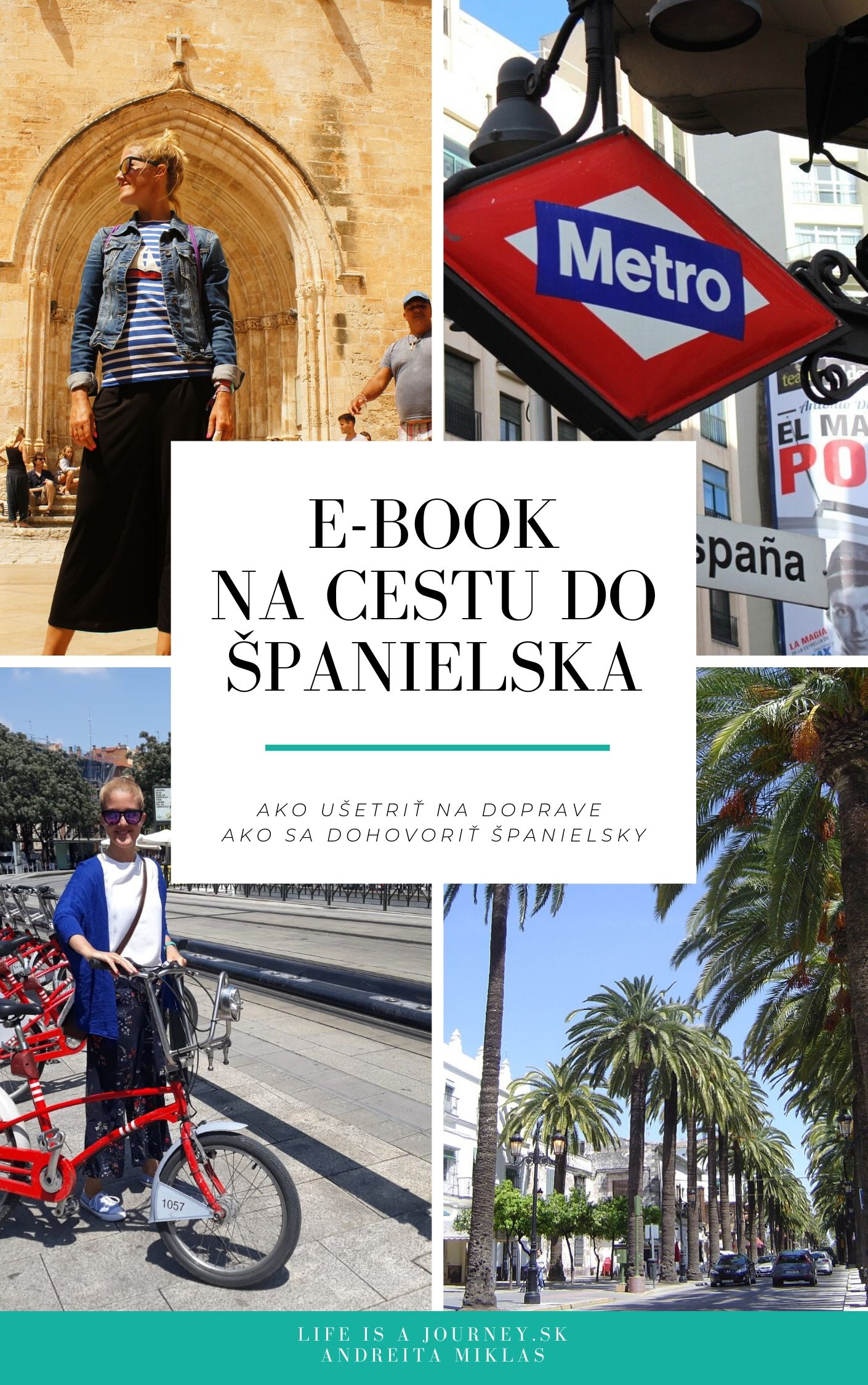 E-book na cestu do Španielska