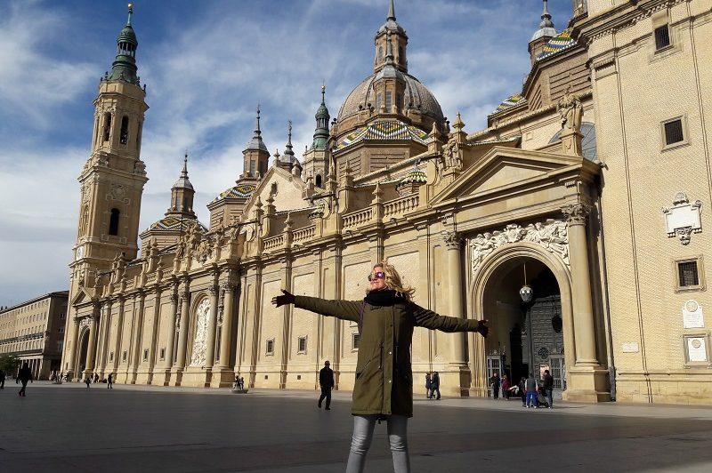 Katedrala El Pilar Zaragoza Spanielsko