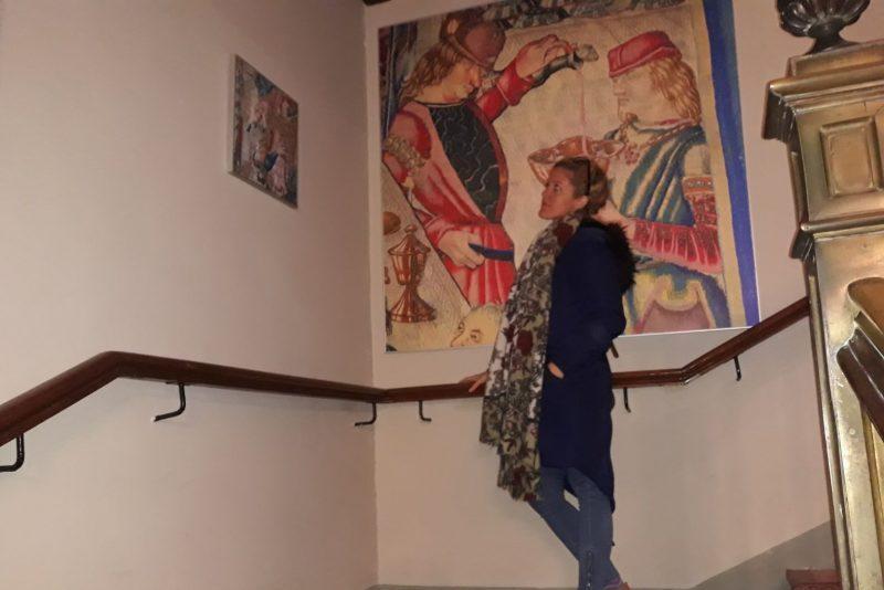 Muzeum tapiserii La Seo Zaragoza Aragonsko