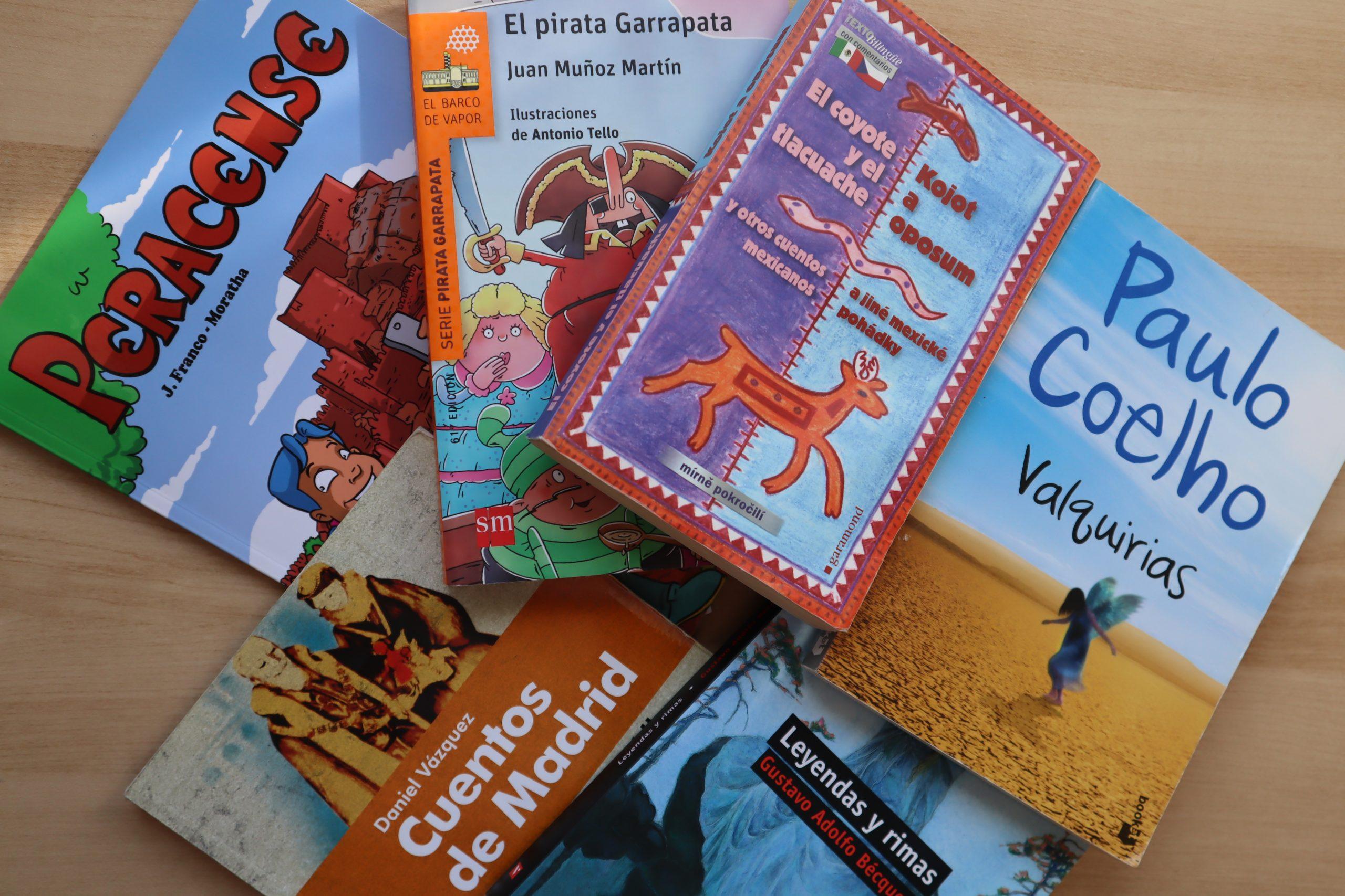 španielske knihy učenie španielčiny